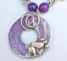 Purple Loveliness Washer Necklace. Inspiration