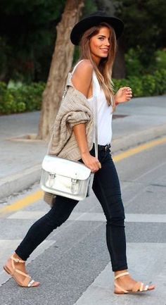 #street #style / casual fall outfit