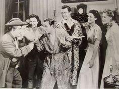 Abbott and Costello in The Time of Their Lives 1946 - reminds me of time spend with my grandfather