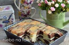 sernikowo kakaowe Cheesecake, Polish Recipes, Polish Food, Sweets Cake, Tiramisu, Ale, Food And Drink, Cooking Recipes, Pudding