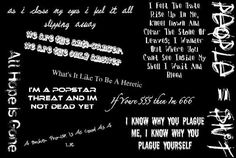 slipknot quotes | Slipknot Lyrics Graphics Code | Slipknot Lyrics Comments  Pictures