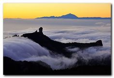 Sea of Clouds - Roque Nublo - Gran Canaria