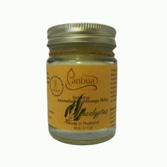 Aroma Balm Massage Eucalyptus 60ml, Thai Balm for Massage and Pain Relief, Thai Original Massage Spa Pain Relief, Relaxing Cleansing Balm *** You can find out more details at the link of the image.
