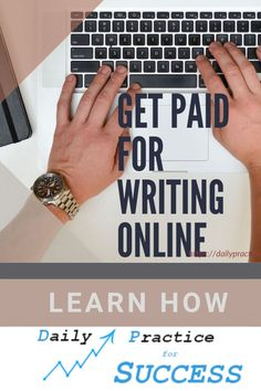Do you know you can get paid for writing online? There are many ways to do this. I will show you how to get paid for writing articles, how to get paid for writing reviews and how to get paid for writing a blog. And the best thing is I will explain how you can start for free. Digital Marketing Trends, Marketing Tools, Internet Marketing, Write Online, Online Work, Article Writing, Writing Tips, Work From Home Tips, Search Engine Marketing