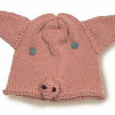 Organic Cotton Piggy Hat