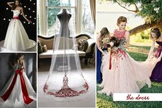 Considering having a red and white wedding? Read on to get inspirations! We have collected gorgeous pictures and brilliant ideas to add passion and love to your dream day!