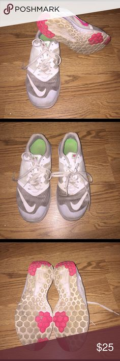 Nike FS Lite Run 3 Definitely worn but the soles are still in good shape! They are dirty due to me having to run bumper cars where I work! They have been washed but again, I do work with bumper cars! Nike Shoes Sneakers