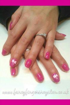 Gelish nail art bows Bow Nail Art, Gelish Nails, Cute Nails, Nail Ideas, Fingers, Bows, Fancy, Pretty Nails, Arches