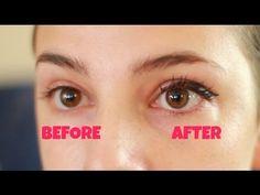 DIY INSTANT FALSE EYELASHES and other eye makeup hacks
