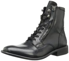 Diesel Men's The Pit Boot,Black,7.5 M US - http://authenticboots.com/diesel-mens-the-pit-bootblack7-5-m-us/
