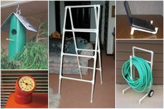 the hose reel is a great idea - by The Cottage Market