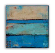 Abstract Painting Original art van erinashleyart op Etsy
