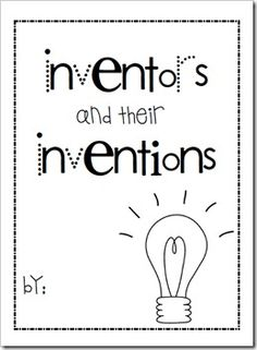 Who invented what- a guide for children.