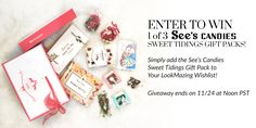 LookMazing Sees Candies Holiday Giveaway