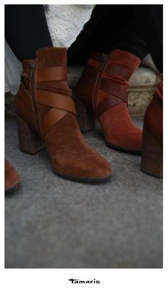 tamaris sandale nut gold, Damen Stiefelletten Adriana