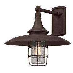 Troy Lighting Allegany 1 Light Outdoor Barn Light Size: Large