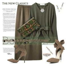 """""""Put a Bow on It!"""" by eyesondesign ❤ liked on Polyvore featuring bows and eyesondesignfashion"""