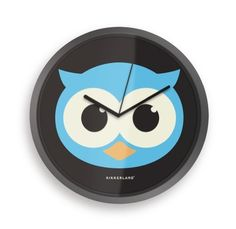Kikkerland Glow In The Dark Owl 8-Inch Wall Clock by Kikkerland, http://www.amazon.com/dp/B008RJZ0JW/ref=cm_sw_r_pi_dp_J1OWrb19NXYDD