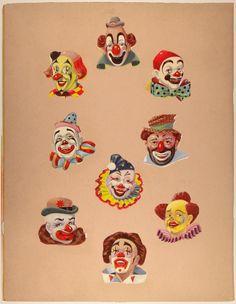 Found Art: Clowns by Sir Peter Blake