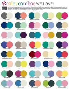 color combos we love