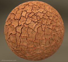 ArtStation - Mud Cracks, Christian Vasquez