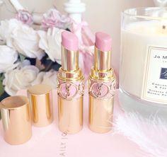 Favourite Five Pink Lipsticks | YSL Rouge Volupte, Lingerie Pink  Nude Beige