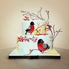Winter-redbird