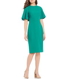 1e4dee26ee0 Shop for Antonio Melani Nova Flutter Sleeve Dress at Dillards.com. Visit  Dillards.