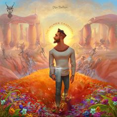 "Jon Bellion ""The Human Condition"" Artworks, David Ardinaryas Lojaya on ArtStation at https://www.artstation.com/artwork/n2Beo"