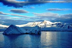 A blue sky is a rare thing to see in #Antarctica.