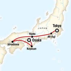 Japan Express: Osaka to Tokyo - Lonely Planet 9 day itinerary -- Take in the…