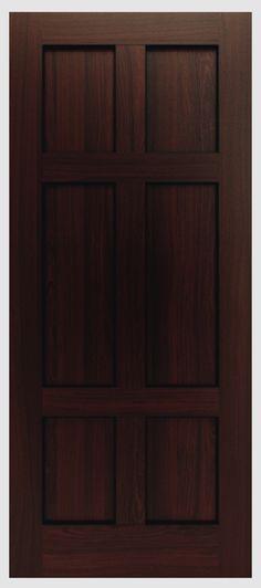 TruStile Doors - modern and contemporary solid wood doors; TM9000 in ...