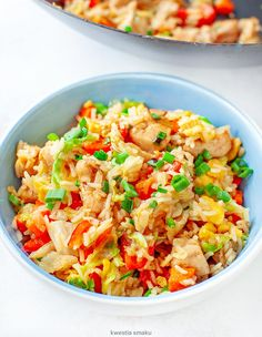 Fried Rice, Risotto, Salads, Food And Drink, Cooking Recipes, Asian, Dinner, Vegetables, Gastronomia