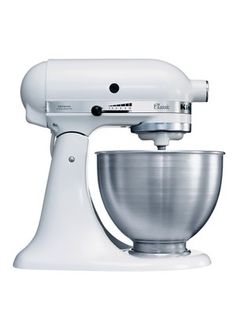 K45SS Classic Stand Mixer - White, http://www.very.co.uk/kitchenaid-k45ss-classic-stand-mixer-white/1382575951.prd