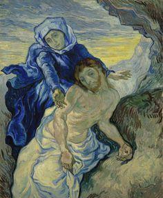 Vincent van Gogh Pietà (after Delacroix) Saint-Rémy-de-Provence, September 1889