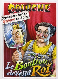"""Un documentaire de Didier Varrod et Nicolas Maupied à voir le jeudi 9 juin à 20h55 sur France 3. Le jour de la disparition de Coluche, le 19 Juin 1986, la France a canonisé son clown. À """"l'insu de son plein gré"""" évidemment, et au grand dam de tous ceux..."""