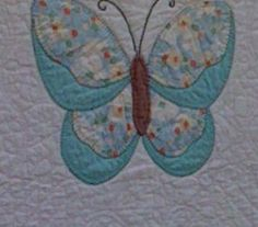 Butterfly Quilt- my grand daughter likes butterflies.