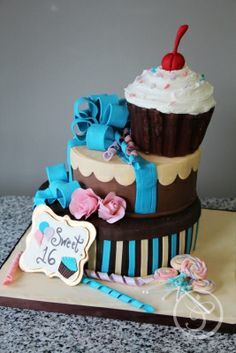 Cake Art Miranda : 1000+ images about Sweet Sixteen Cakes / Ideas on ...