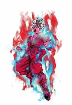 Goku Super Saiyajin Blue + Kaioken