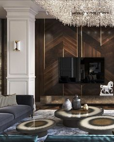 """Home Interior Simple : """" """" Interior Simple : """" """" House Paint Interior, Living Room Interior, Home Living Room, Living Room Decor, Luxury Living Rooms, Luxury Home Decor, Luxury Interior, Interior Architecture, Luxury Homes"""