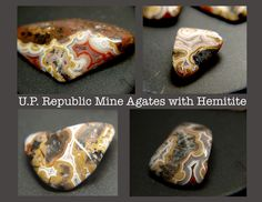 Iron Agates from Michigan's UP