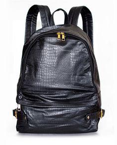 Pray for Paris 'Black Croc' backpack - Coming October | Pray For Paris (£38.00)