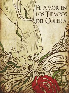 El amor en los tiempos del colera - cover by Daniela Garcia Zuliani - Gabriel Garcia Marquez - http://thesubwayreader.com/2014/04/top-60-gabriel-garcia-marquez-book-covers/