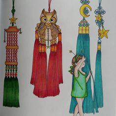 """Páči sa mi to: 38, komentáre: 5 – Stanka (@stanislava007) na Instagrame: """"Little fairy. I really love result. ⏳Time chamber_Daria Song #colouring #coloringbooks…"""""""