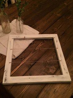 Rustic Wood Display Frame by CarriageHouseCreek on Etsy