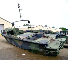 This Combat Support Boat is on GovLiquidation. Bidding starts at $25!