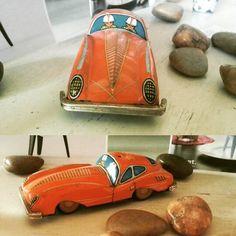 Wer hat am Wochenende eine Spritztour gemacht? ;)  #blechauto #Spielzeug #spritztour #blechspielzeug #blog #wohnartistin