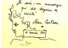 jean cocteau dessins