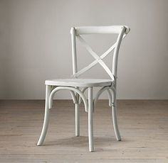 Madeline Side Chair: White.  Restoration Hardware.  To go with the Flatiron Dining Table.