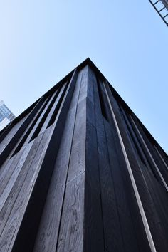 Shou-Sugi-Ban® can supply, design and install charred timber cladding for all projects. Cladding Ideas, Timber Cladding, Timber Products, Charred Wood, Timber House, Wood Detail, Exterior Design, Woods, Cherry